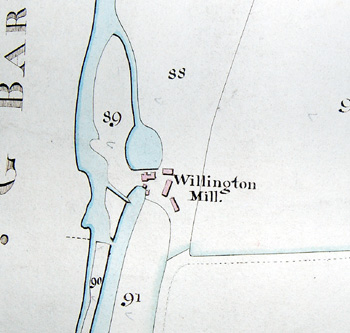 Willington Mills about 1840 [MAT51]